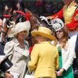 Camilla et la reine Elizabeth II à l'Ascot Racecourse. 16/06/09