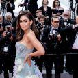 """Araya A. Hargate - Montée des marches du film """"Les Misérables"""" lors du 72ème Festival International du Film de Cannes. Le 15 mai 2019 © Jacovides-Moreau / Bestimage"""
