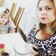 Cindy Lopes avec sa fille Stella - Instagram, 24 novembre 2018