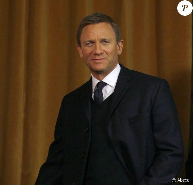 Daniel Craig, bientôt James Bond pour la troisième fois !