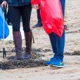 Catherine Kate Middleton, duchesse de Cambridge, le prince William, duc de Cambridge en visite à Caernarfon et sur la plage de Newborough au Pays de Galles le 8 mai 2019.