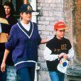 Diana et son fils William en 1993.