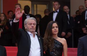 Alain Delon impérial avec sa fille Anouchka : Larmes et fierté à Cannes