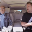 Céline Dion et James Corden, dans le Carpool Karaoke, le 20 mai 2019