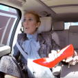 Céline Dion dans le Carpool Karaoke de James Corden, le 20 mai 2019