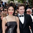 "Hana Cross et son compagnon Brooklyn Beckham - Montée des marches du film ""Once upon a time... in Hollywood"" lors du 72ème Festival International du Film de Cannes. Le 21 mai 2019 © Jacovides-Moreau / Bestimage"