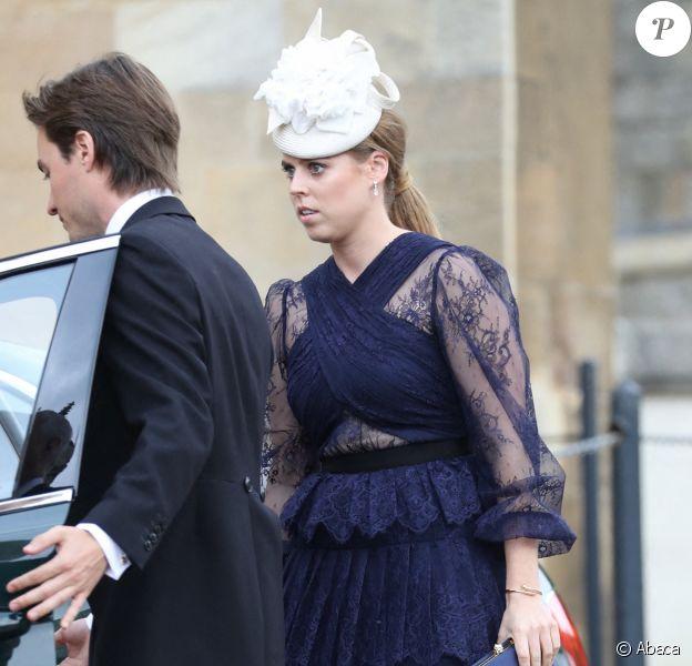 Beatrice d'York - Mariage de Lady Gabriella Windsor avec Thomas Kingston dans la chapelle Saint-Georges du château de Windsor le 18 mai 2019.