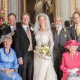 Les photos officielles du mariage de Lady Gabriella Windsor avec Thomas Kingston, le 18 mai 2019 à Windsor.