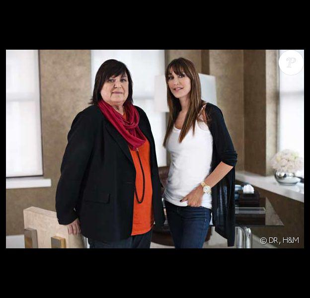 Margareta Van Den Bosch, conseillère pour la création de H&M, et Tamara Mellon, directrice de Jimmy Choo !