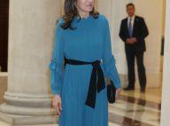 Letizia d'Espagne ressort sa combi-pantalon Zara devant des femmes d'exception
