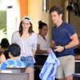 Exclusif - Emma Watson et son nouveau compagnon Brendan Wallace pendant leurs vacances romantiques à Cabo San Lucas, Mexique, le 13 Octobre 2018.