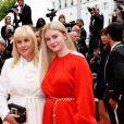 """Patricia Arquette, sa fille Harlow Olivia Calliope - Montée des marches du film """"Sibyl"""" lors du 72ème Festival International du Film de Cannes. Le 24 mai 2019 © Jacovides-Moreau / Bestimage"""
