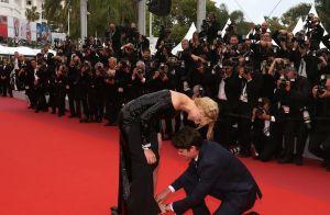 Virginie Efira étincelante : son amoureux Niels Schneider à son secours à Cannes