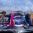 Les Spice Girls en concert à Dublin à l'occasion du Spice World Tour, le 24 mai 2019.  The Spice Girls performing live in Dublin at the opening night of their Spice World Tour! on May 24, 2019.24/05/2019 - Dublin