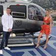 Max Verstappen et Bella Hadid assistent au dîner Tag Heuer à Monaco à l'occasion des 50 ans de sa montre culte. Monaco, le 24 mai 2019. © Dave Bennett for Tag Heuer via Bestimage