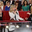 """Marie-Amélie Seigner, Emmanuelle Seigner et Mathilde Seigner - Enregistrement de l'émission """"Vivement Dimanche"""" à Paris le 13 mai 2014."""