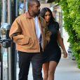 """Exclusif - Kim Kardashian et Kanye West sont allés dîner au restaurant """"Giorgio Baldi"""" à Los Angeles, le 23 mai 2019."""
