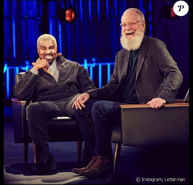 """Kanye West et David Letterman dans """"My Next Guest"""", disponible sur Netflix à partir de vendredi 31 mai 2019."""