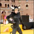 Sacha Baron Cohen (alias Brüno) en promotion en Espagne, hier