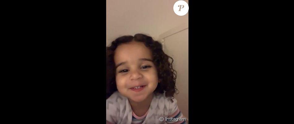Dream Kardashian adresse un message vidéo à son papa le 30 mai 2019.