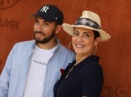 Cristina Cordula : Maman stylée et fun avec son grand Enzo à Roland-Garros