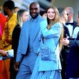Gigi Hadid et Virgil Abloh arrivent au Brooklyn Museum pour les CFDA Fashion Awards 2019 à New York, le 3 juin 2019.