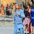 Gigi Hadid arrive au Brooklyn Museum pour les CFDA Fashion Awards 2019 à New York, le 3 juin 2019.
