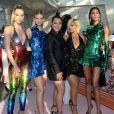 Hannah Ferguson, Bebe Rexha, Cindy Bruna, Angelys Balek et Nadine Leopold assistent aux CFDA Fashion Awards 2019 à New York, le 3 juin 2019.