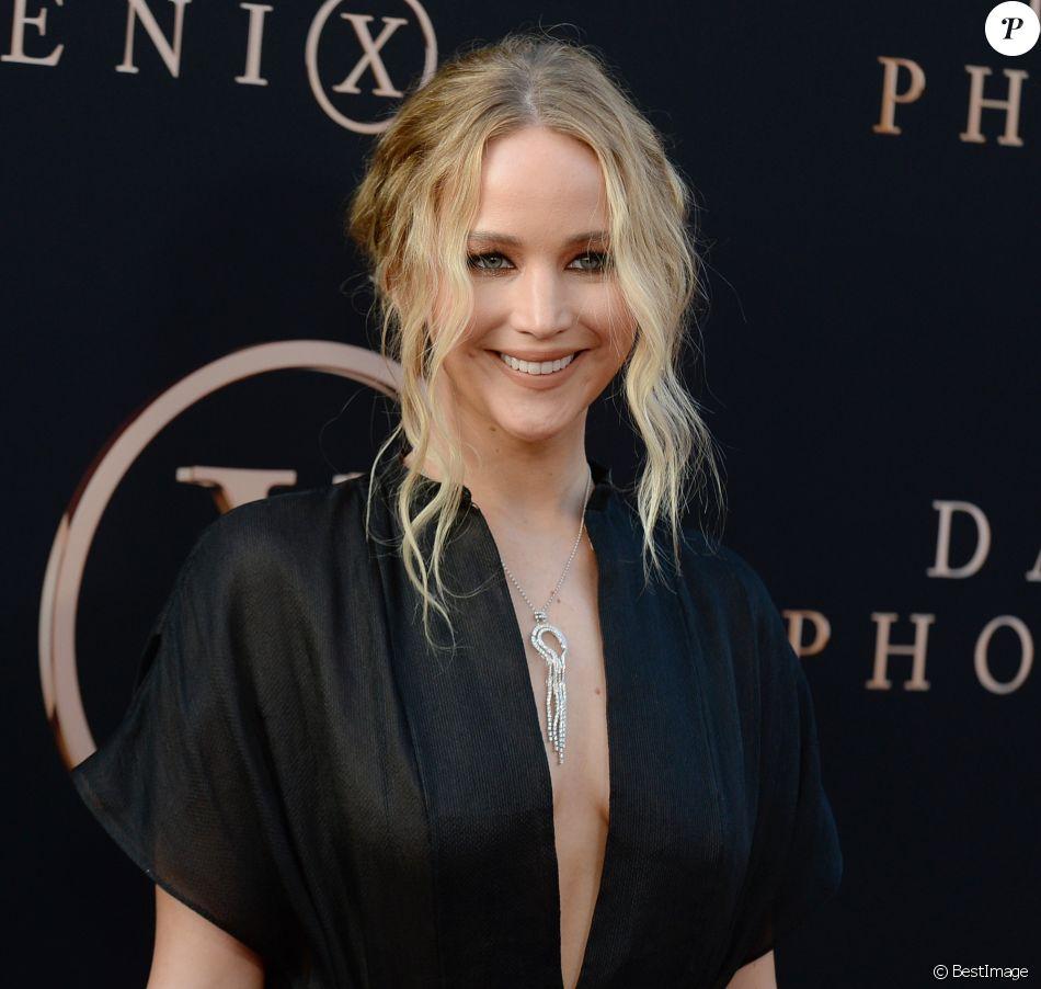 """Jennifer Lawrence à la première de """"X-Men : Dark Phoenix"""" à Los Angeles, le 4 juin 2019."""
