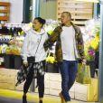 Exclusif - Channing Tatum et sa compagne Jessie J font leurs courses dans une épicerie de Los Angeles, le 25 mars 2019.