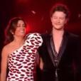 """Jenifer et Sidoine pour la finale de """"The Voice 8"""" sur TF1, le 6 juin 2019."""