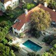 Image de l'ancienne villa de Jennifer Aniston et Brad Pitt à Beverly Hills, en 2003