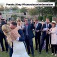 François-Xavier Demaison et Anaïs Tihay se sont mariés le 7 juin 2019 dans les Pyrénées-Orientales, unis à la mairie de Perpignan avant de célébrer leurs noces au château de Valmy à Argelès-sur-Mer. Image Instagram.