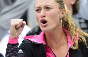 Kristina Mladenovic, à fond avec son amoureux Dominic Thiem à Roland-Garros