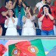 La famille de Cristiano Ronaldo - Le Portugal a remporté la première édition de la Ligue des nations, à Porto, le 9 juin 2019.