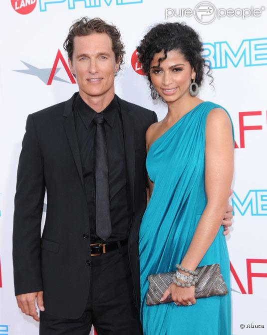 Matthew McConaughey et Camila Alves en juin 2009