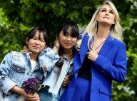 Laeticia Hallyday submergée par l'émotion avec Jade et Joy, les fans en soutien