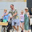 """Exclusif - Naomi Watts et son ex-compagnon Liev Schreiber se retrouvent pour une journée en famille avec leurs enfants Samuel """"Sammy"""" Kai et Alexander """"Sasha"""" Pete à New York, le 2 juin 2019."""