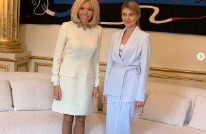 Brigitte Macron : Chic et classique pour la première dame ukrainienne, conquise