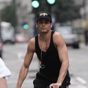 Jesus Luz : Madonna ne lui fait pas faire de sport... le toyboy se venge sur son vélo !