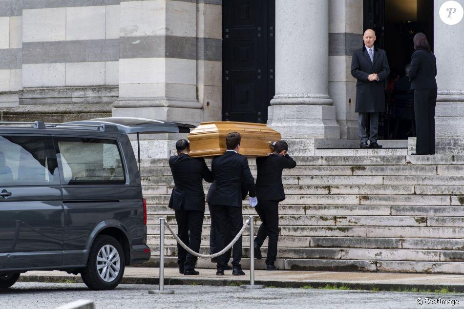 Les obsèques de Maurice Bénichou à la Coupole du Père Lachaise à Paris, le 20 juin 2019.