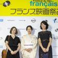 Elea Gobbe-Mevellec, Miki Nakatani et Zabou Breitman lors du 27e Festival du Film Français au Japon organisé par Unifrance à Yokohama, au Japon, le 20 juin 2019. © Rodrigo Reyes Marin/Zuma Press/Bestimage
