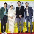 Vincent Lacoste, Mikhaël Hers et Mikhael Hers lors du 27e Festival du Film Français au Japon organisé par Unifrance à Yokohama, au Japon, le 20 juin 2019. © Rodrigo Reyes Marin/Zuma Press/Bestimage
