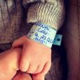 Laurent Ournac dévoile un peu de son fils Léon, né le 23 février 2019.