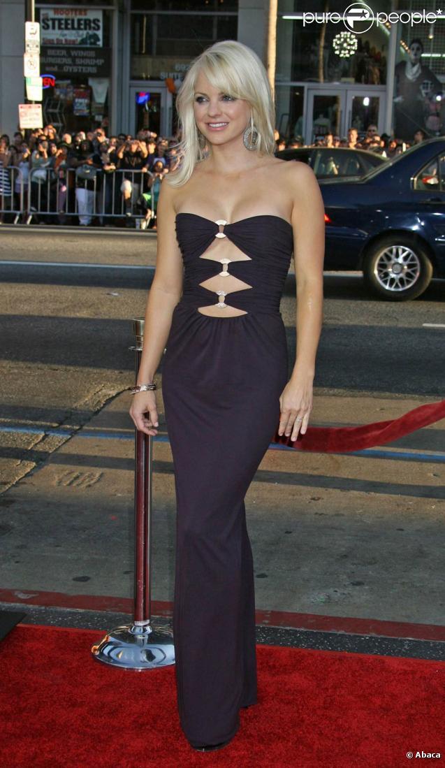 La superbe Anna Faris... sur tapis rouge !