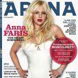 La jolie Anna Faris en couverture de Arena !
