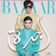 Kylie Jenner pose avec sa mère Kris pour le magazine Harper's Bazaar Arabia (juillet/août 2019).