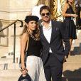Ian Somerhalder et sa femme Nikki Reed arrivent au défilé Haute Couture Armani Privé collection Automne-Hiver 2019/20 au Petit Palais à Paris, le 2 juillet 2019. © Veeren Ramsamy-Christophe Clovis/Bestimage