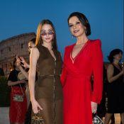 Catherine Zeta-Jones : Canon pour une soirée au Colisée avec sa fille