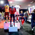 Image de la soirée de présentation des nouveaux maillots du LOSC par l'équipementier New Balance pour la saison 2019-2020 à Lille le 4 juillet 2019.